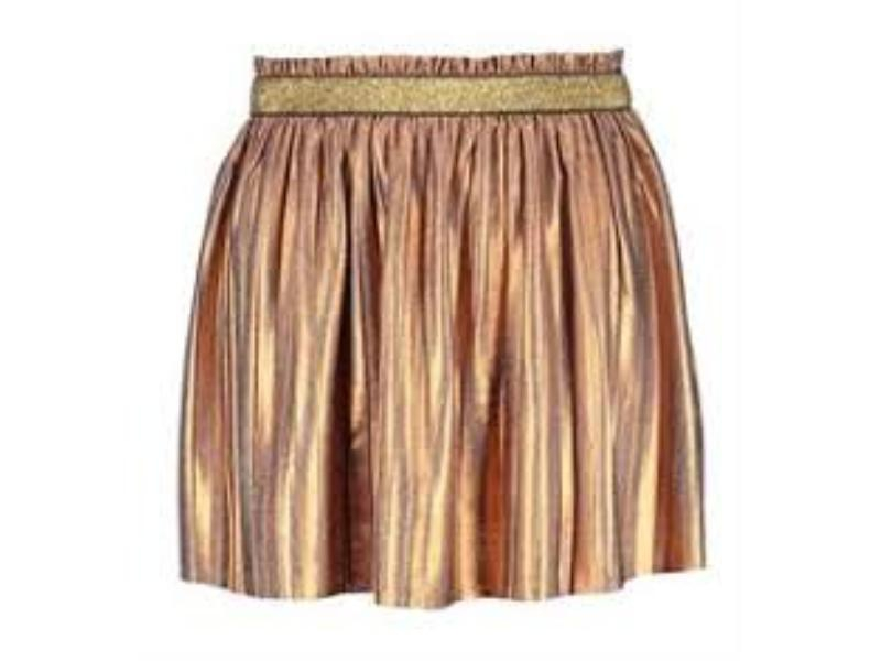 Flo skirt metallic bronz id:F803-5762