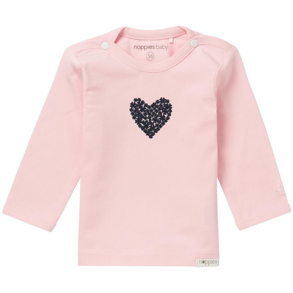 Noppies newborn basic Natick ls shirt id:67369